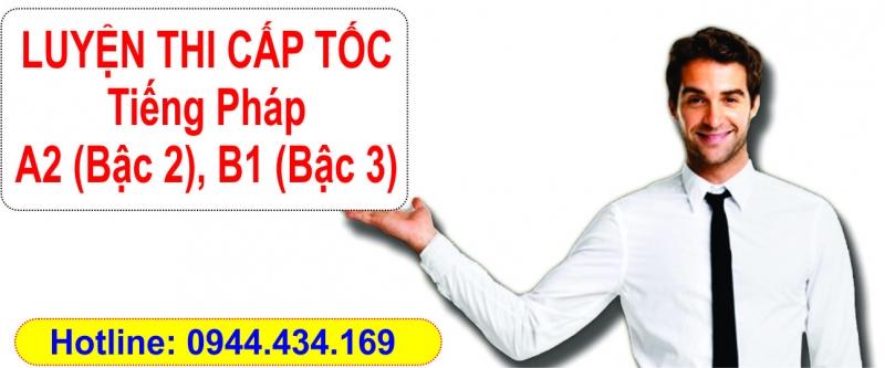 luyen thi tieng phap A2 B1 cap toc